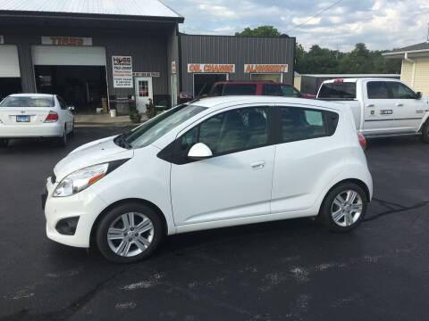 2014 Chevrolet Spark for sale at Hoss Sage City Motors, Inc in Monticello IL