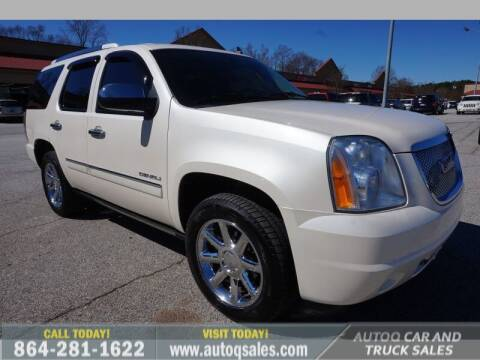 2012 GMC Yukon for sale at Auto Q Car and Truck Sales in Mauldin SC