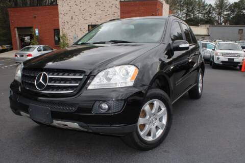2007 Mercedes-Benz M-Class for sale at Atlanta Unique Auto Sales in Norcross GA