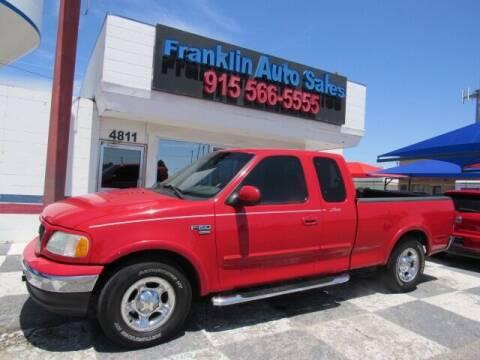 2003 Ford F-150 for sale at Franklin Auto Sales in El Paso TX