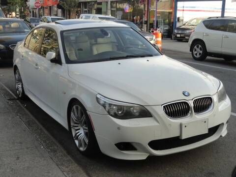 2008 BMW 5 Series for sale at MOUNT EDEN MOTORS INC in Bronx NY
