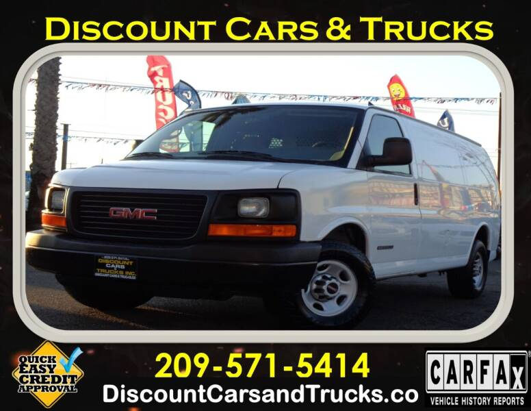 2006 GMC Savana Cargo for sale at Discount Cars & Trucks in Modesto CA