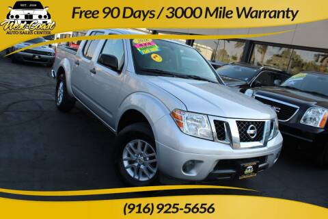 2016 Nissan Frontier for sale at West Coast Auto Sales Center in Sacramento CA