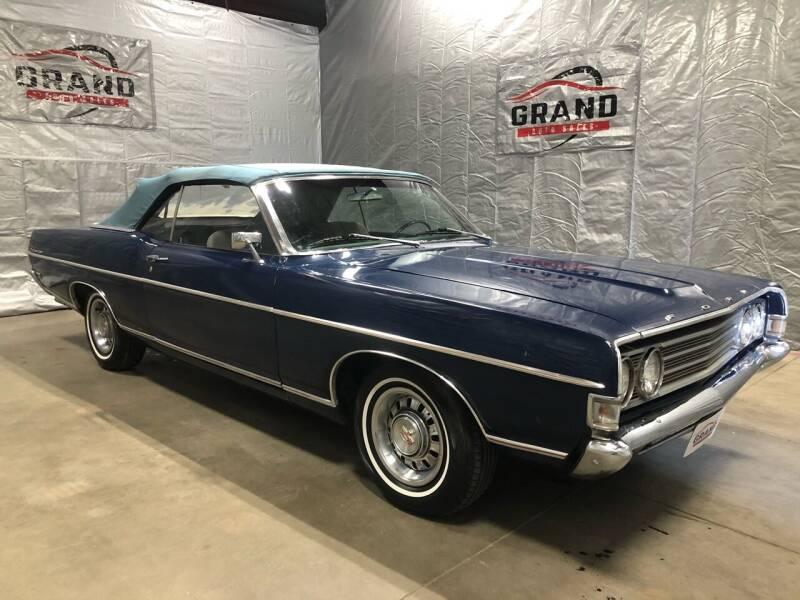 1969 Ford Fairlane for sale at GRAND AUTO SALES in Grand Island NE