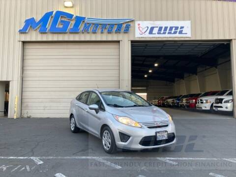 2012 Ford Fiesta for sale at MGI Motors in Sacramento CA