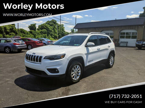 2019 Jeep Cherokee for sale at Worley Motors in Enola PA