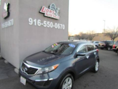 2012 Kia Sportage for sale at LIONS AUTO SALES in Sacramento CA
