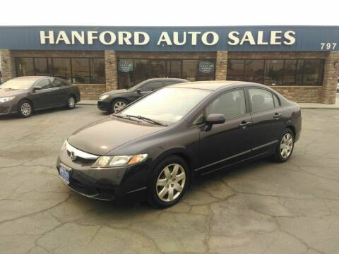 2010 Honda Civic for sale at Hanford Auto Sales in Hanford CA