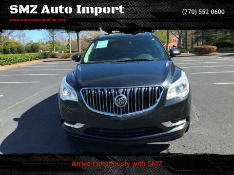 2015 Buick Enclave for sale at SMZ Auto Import in Roswell GA