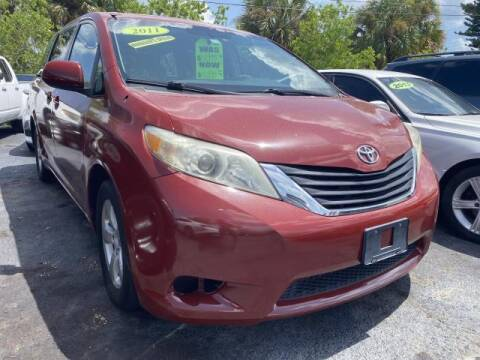 2011 Toyota Sienna for sale at Mike Auto Sales in West Palm Beach FL