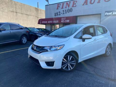 2017 Honda Fit for sale at Fine Auto Sales in Cudahy WI