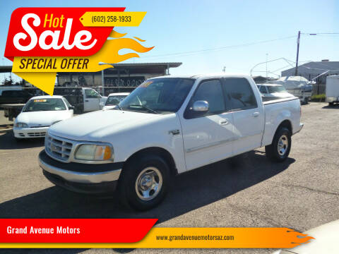 2002 Ford F-150 for sale at Grand Avenue Motors in Phoenix AZ