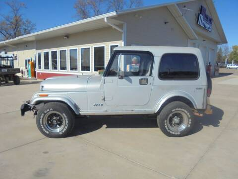 1982 Jeep CJ-7 for sale at Milaca Motors in Milaca MN