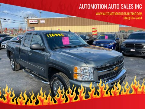 2011 Chevrolet Silverado 1500 for sale at Automotion Auto Sales Inc in Kingston NY