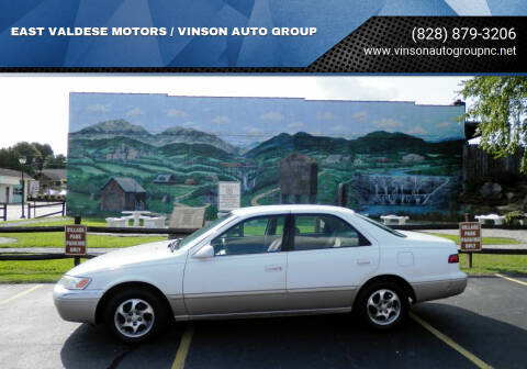 1998 Toyota Camry for sale at EAST VALDESE MOTORS / VINSON AUTO GROUP in Valdese NC
