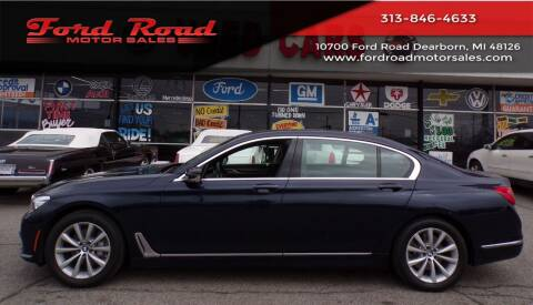 2017 BMW 7 Series for sale at Ford Road Motor Sales in Dearborn MI