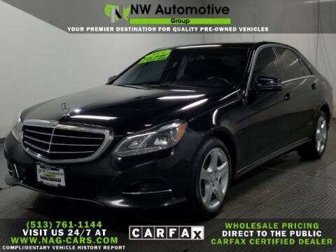 2014 Mercedes-Benz E-Class for sale at NW Automotive Group in Cincinnati OH