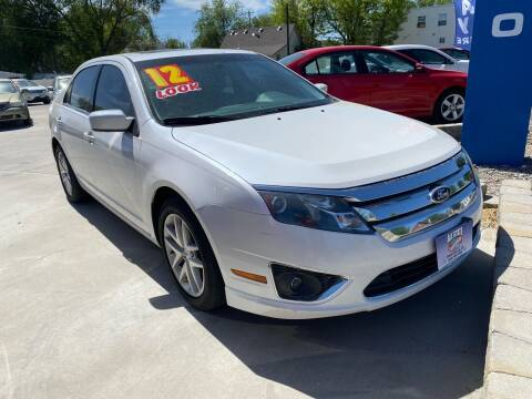 2012 Ford Fusion for sale at Allstate Auto Sales in Twin Falls ID