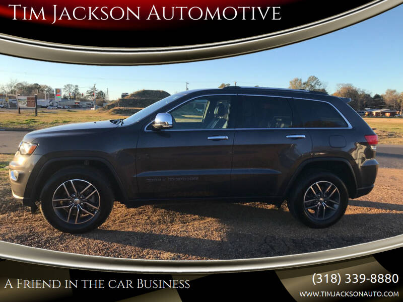 2018 Jeep Grand Cherokee for sale at Tim Jackson Automotive in Jonesville LA