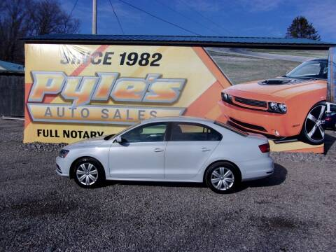 2017 Volkswagen Jetta for sale at Pyles Auto Sales in Kittanning PA