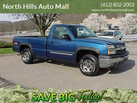 2003 Chevrolet Silverado 1500 for sale at North Hills Auto Mall in Pittsburgh PA