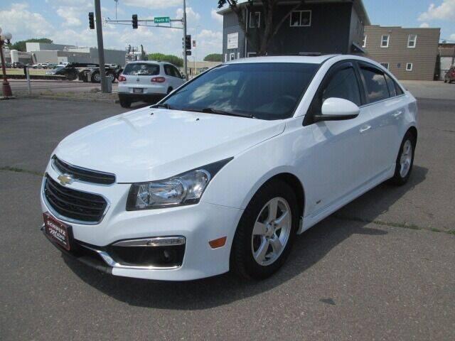 2015 Chevrolet Cruze for sale at SCHULTZ MOTORS in Fairmont MN