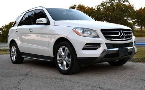 2013 Mercedes-Benz M-Class for sale at BriansPlace in Lipan TX