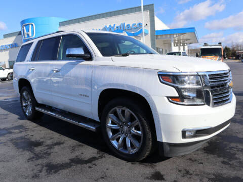 2016 Chevrolet Tahoe for sale at RUSTY WALLACE HONDA in Knoxville TN