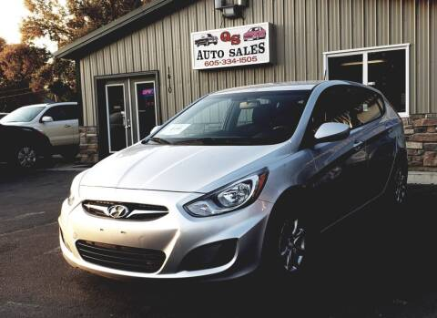 2013 Hyundai Accent for sale at QS Auto Sales in Sioux Falls SD