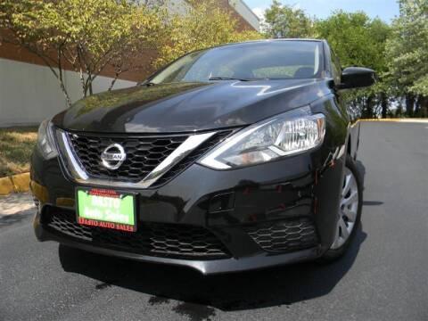 2016 Nissan Sentra for sale at Dasto Auto Sales in Manassas VA