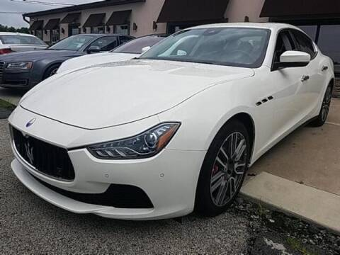 2017 Maserati Ghibli for sale at Cj king of car loans/JJ's Best Auto Sales in Troy MI
