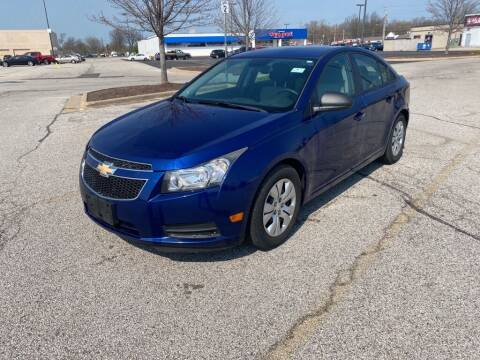 2013 Chevrolet Cruze for sale at TKP Auto Sales in Eastlake OH