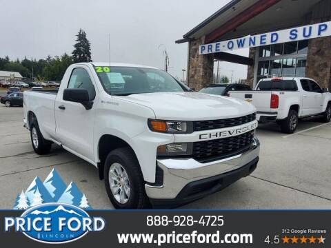 2020 Chevrolet Silverado 1500 for sale at Price Ford Lincoln in Port Angeles WA