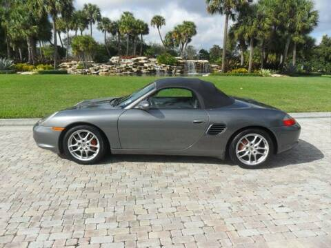 2003 Porsche Boxster for sale at AUTO HOUSE FLORIDA in Pompano Beach FL