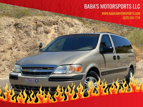 2001 Chevrolet Venture for sale at Baba's Motorsports, LLC in Phoenix AZ