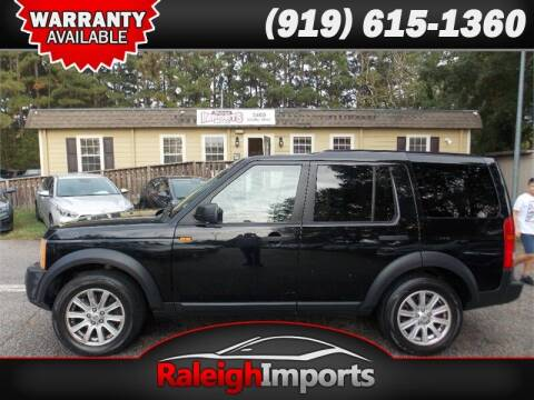 2008 Land Rover LR3 for sale at Raleigh Imports in Raleigh NC