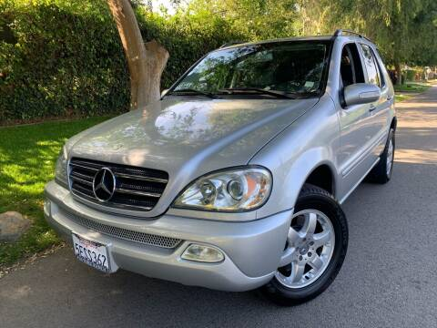 2004 Mercedes-Benz M-Class for sale at Car Lanes LA in Glendale CA