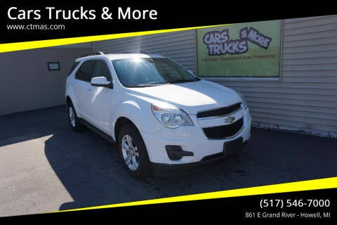 2014 Chevrolet Equinox for sale at Cars Trucks & More in Howell MI