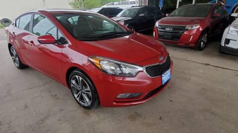 2016 Kia Forte for sale at Divine Auto Sales LLC in Omaha NE