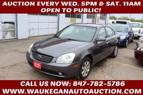 2008 Kia Optima for sale at Waukegan Auto Auction in Waukegan IL