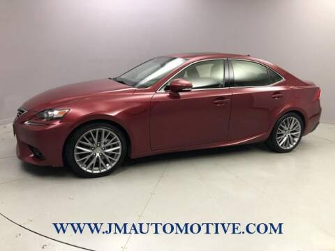 2014 Lexus IS 250 for sale at J & M Automotive in Naugatuck CT