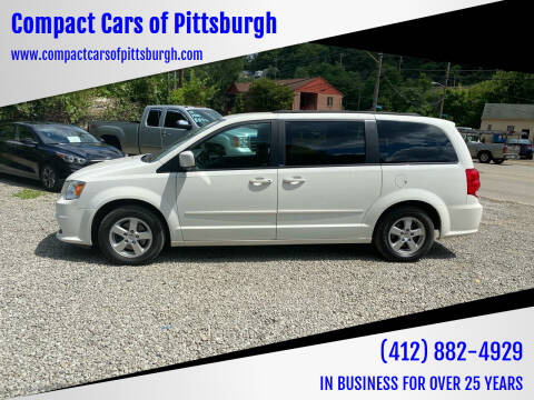 2012 Dodge Grand Caravan for sale at Compact Cars of Pittsburgh in Pittsburgh PA