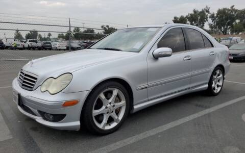 2007 Mercedes-Benz C-Class for sale at SoCal Auto Auction in Ontario CA