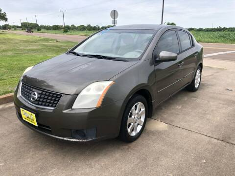 2007 Nissan Sentra for sale at Rock Motors LLC in Victoria TX