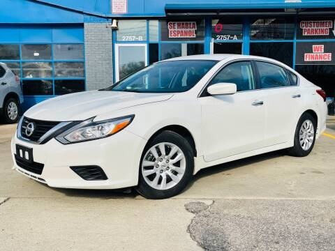 2016 Nissan Altima for sale at Capital Motors in Raleigh NC