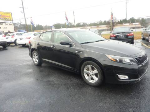 2015 Kia Optima for sale at Roswell Auto Imports in Austell GA