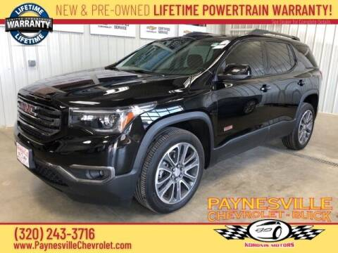 2018 GMC Acadia for sale at Paynesville Chevrolet Buick in Paynesville MN