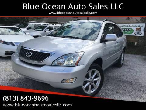 2009 Lexus RX 350 for sale at Blue Ocean Auto Sales LLC in Tampa FL