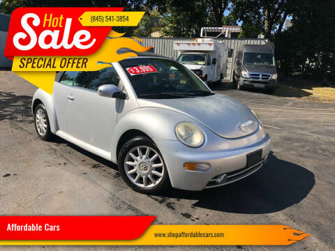 2005 Volkswagen New Beetle for sale at Affordable Cars in Kingston NY