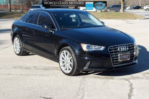 2015 Audi A3 for sale at World Class Motors LLC in Noblesville IN